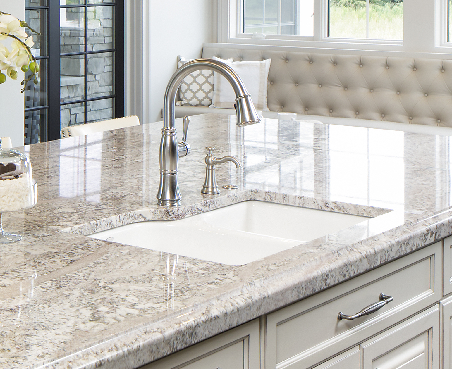 Kitchen Faucets For Granite Countertops Sink Options For Granite Countertops Bathroom And Kitchen