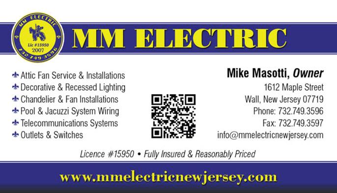MM Electric Business Cards Design Portfolio CDG Marketing  Web