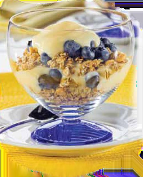 Healthy Spring Recipes: Blueberry Banana YogurtParfaits