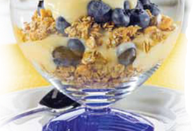 Healthy Spring Recipes: Blueberry Banana Yogurt Parfaits