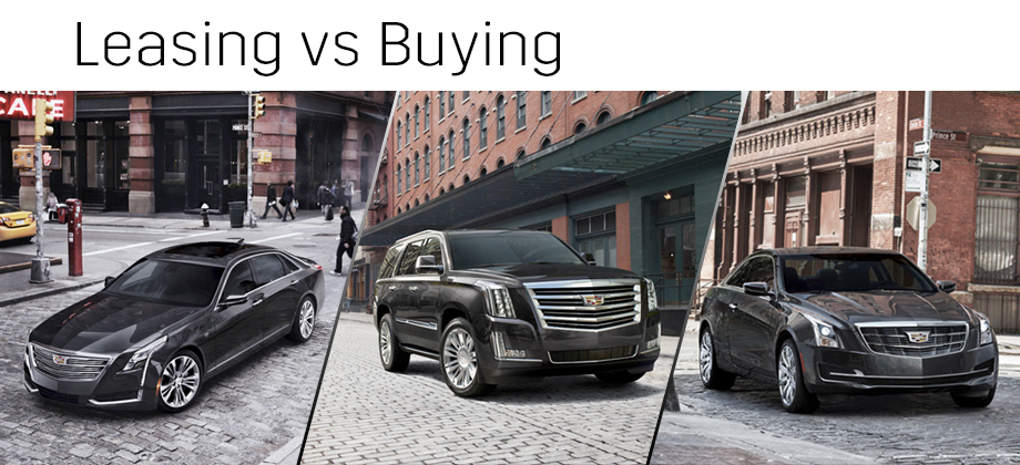 Buying vs Leasing Buy or Lease a Cadillac in Merrillville, IN