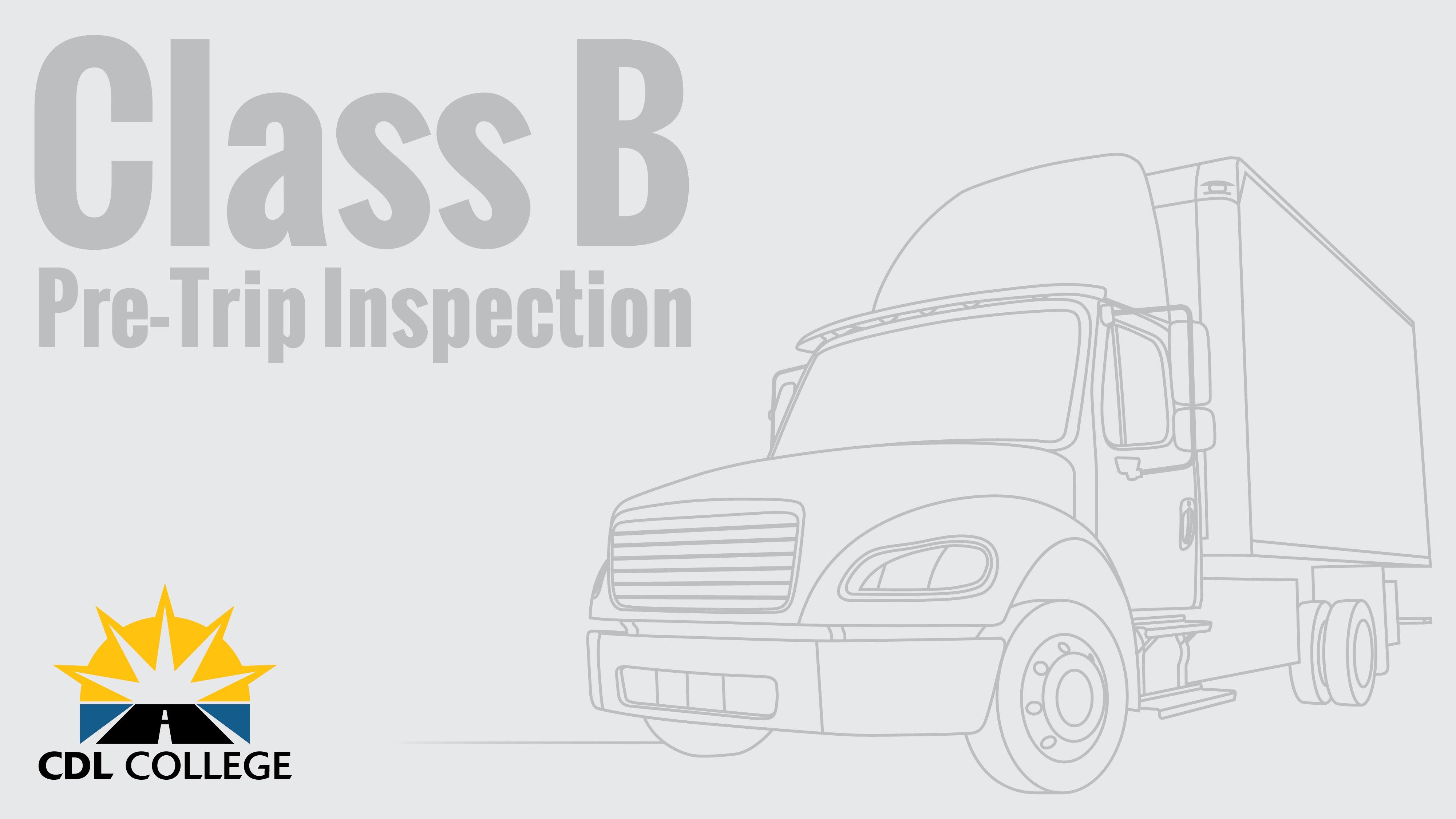 bus engine compartment diagram cdl pretrip