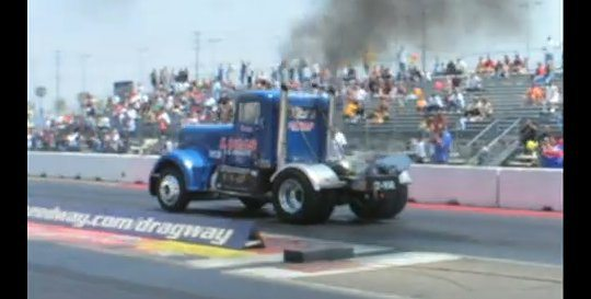Fastest Semi Truck in Drag Racing