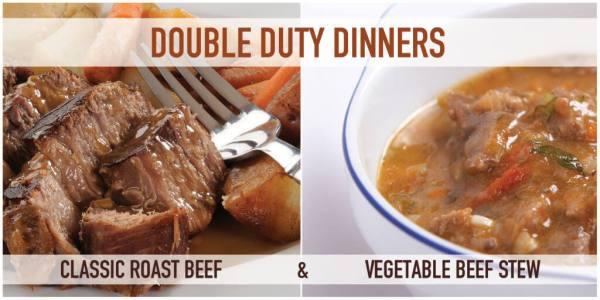 Double Duty Dinner 3