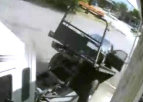 VIDEO: Tow Truck Driver's Painful Fail