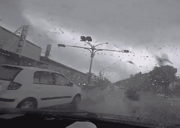 SUV Vs. Tornado