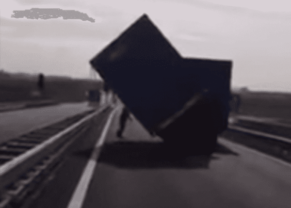 Trucker Rights Tipped Trailer