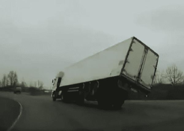 Turning Truck Bites The Dust