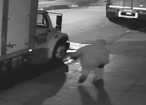 Police Release Video Of Suspected Brooklyn Truck Arsonist