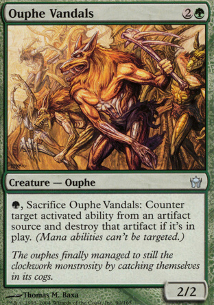 Ouphe Vandals in Fifth Dawn