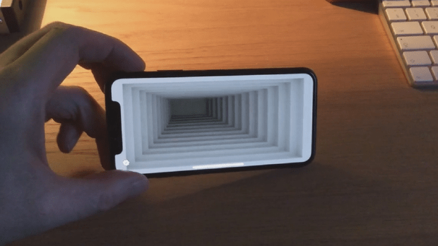 Illusion Wallpaper Iphone This Remarkable Optical Illusion App Turns The Iphone X