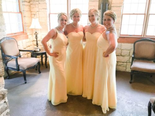 Medium Of Orange Bridesmaid Dresses