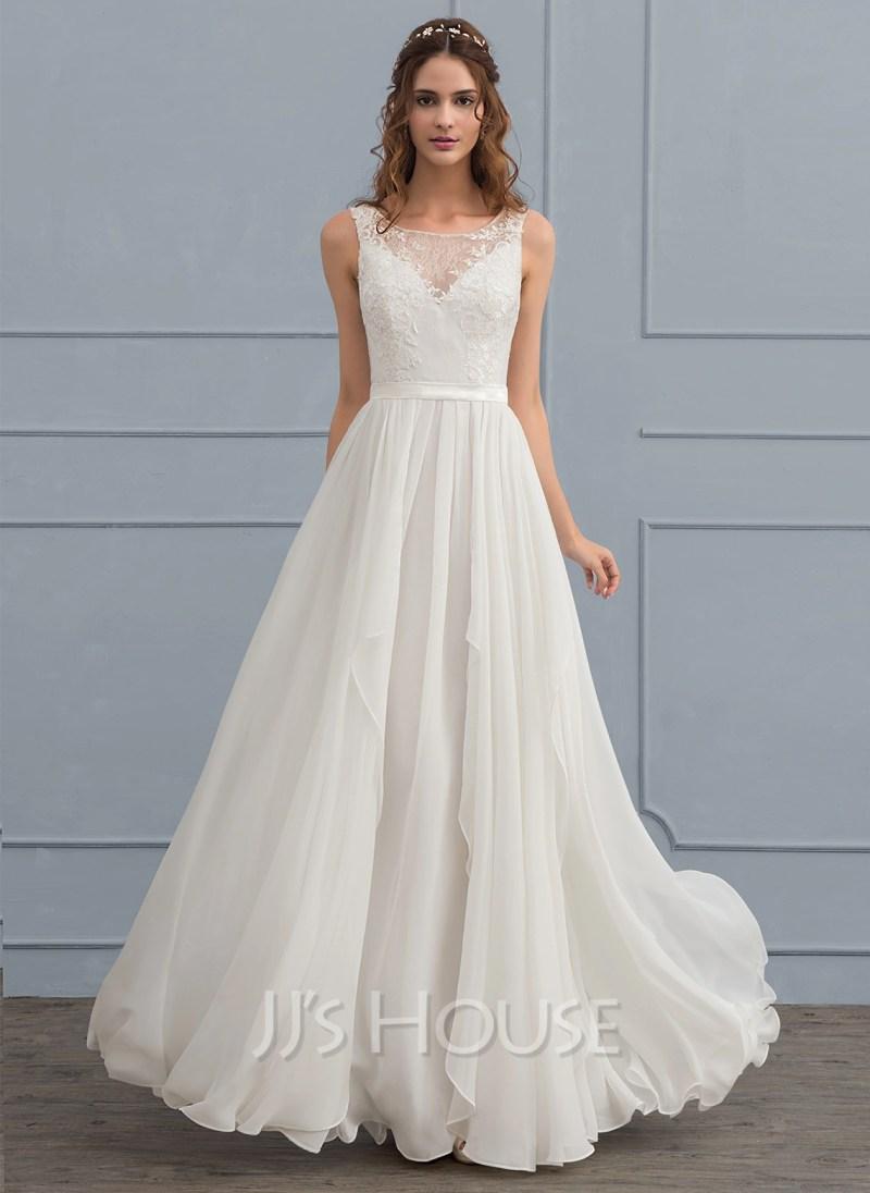 Large Of Chiffon Wedding Dress
