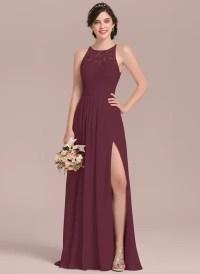 Buy Cheap Claret Bridesmaid Dresses | JJ'sHouse