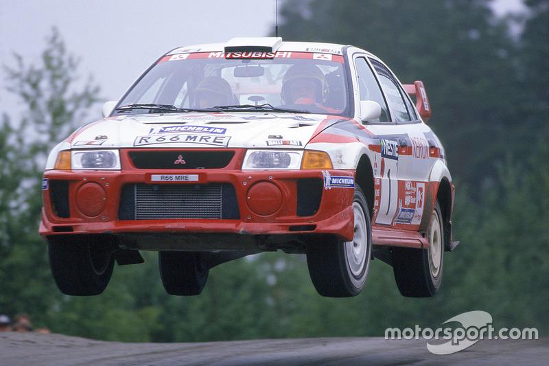 Mitsubishi Lancer Evo V group A (1998) - Racing Cars