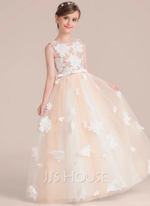Medium Of Flower Girl Dress