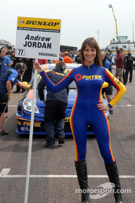 Girl Sprint Car Wallpaper Andrew Jordan Pirtek Racing Grid Girl At Thruxton