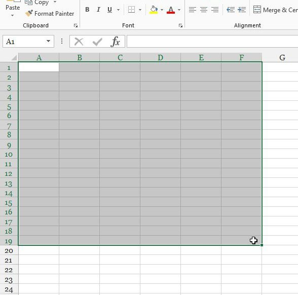 How to Print an Empty Grid in Excel 2013 - Live2Tech