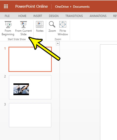 How to Play Your Powerpoint Presentation in Powerpoint Online