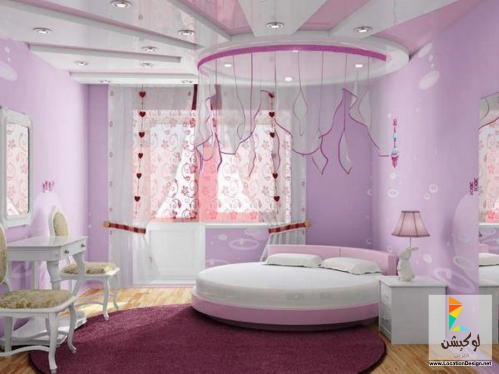 Pretty Girls Bedrooms ديكور جبس غرف نوم 2017 2018 Bedrooms Blog