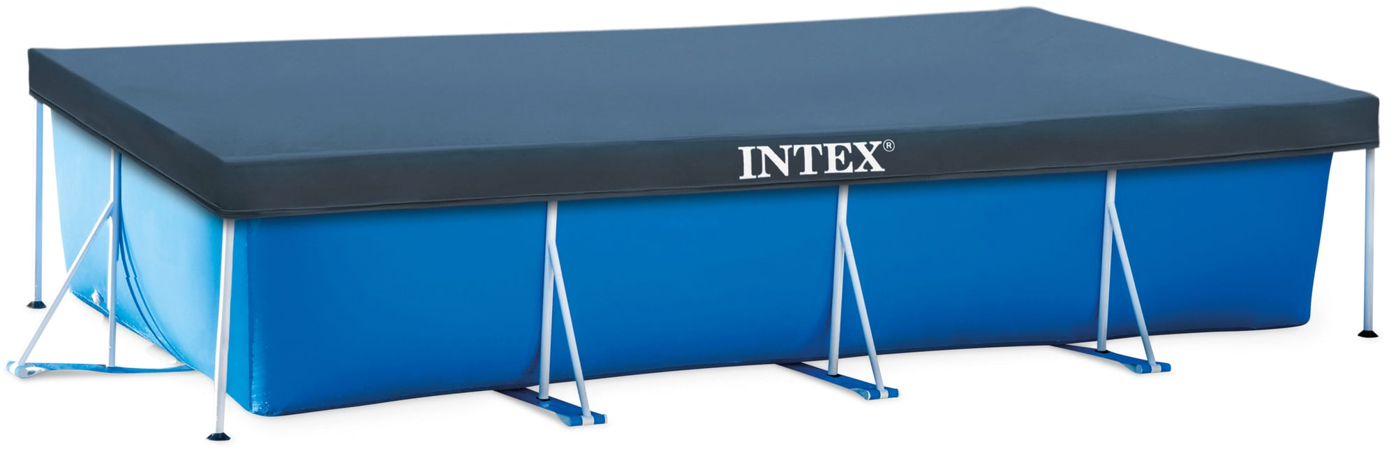 Abdeckplane Intex Pool Rechteckig Intex Abdeckplane Frame Pool Family