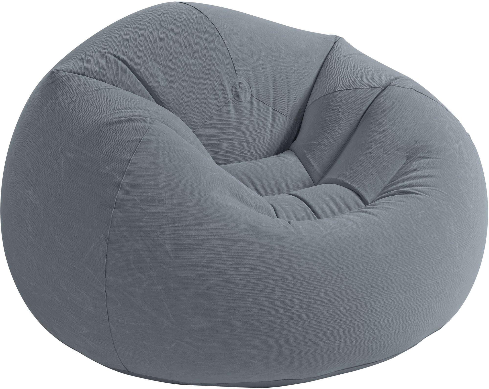 Sitzsack Wasserfest Intex Beanless Bag Chair Grey