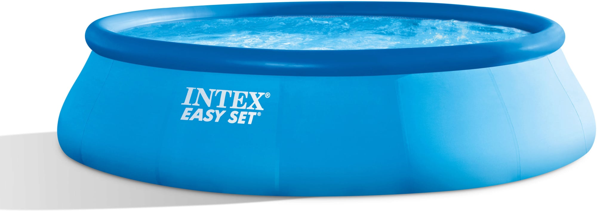 Wärmepumpe Pool Undicht Intex Easy Pool Ø 457 X 107 Cm