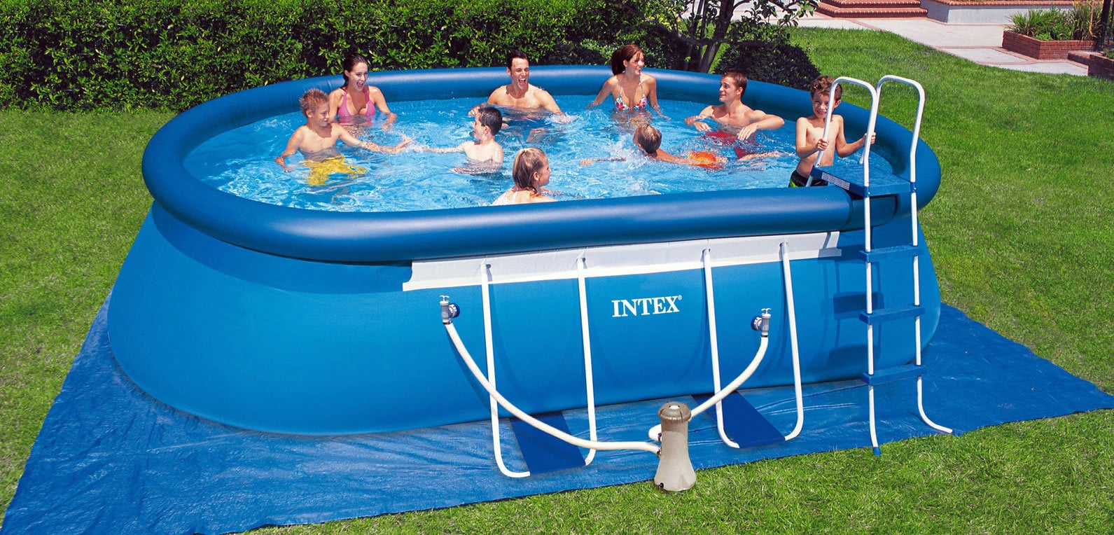 Solarplane Pool Intex 305 Intex Ersatzteile Frame Pool Oval 549 X 305 X 107 Cm