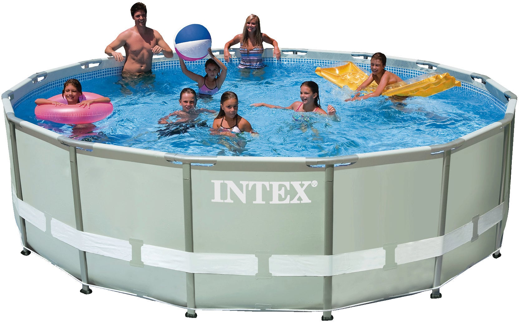 Pool Reinigungsset Amazon Intex Ersatzteile Frame Pool Ultra Rondo Ø 488 X 122 Cm