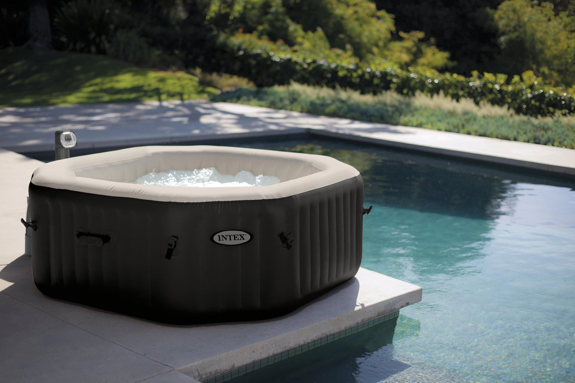 Jacuzzi Pool Abdeckung Whirlpool Pure Spa Bubble Jet Octagonal