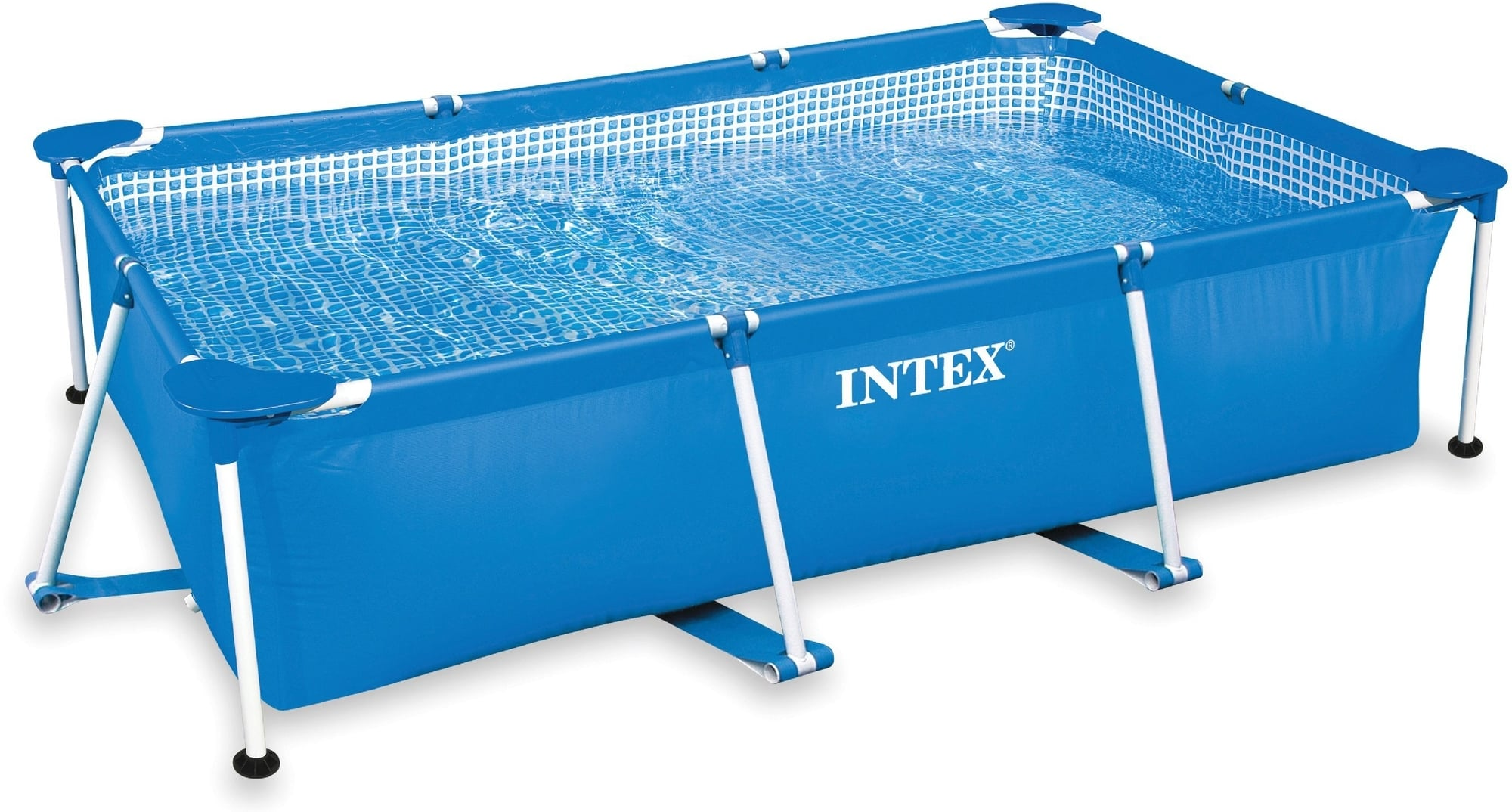 Pool Mit Filter Und Abdeckung Intex Frame Pool Family 300 X 200 X 75 Cm