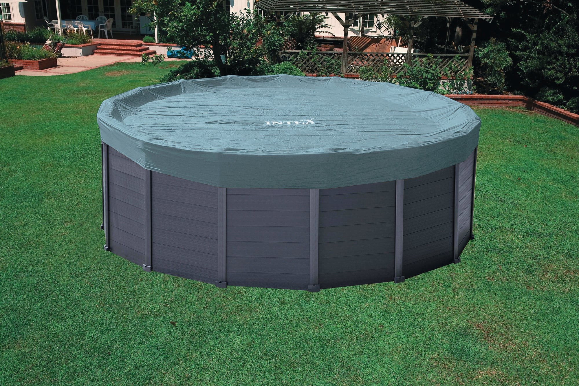 Hobby Pool Sandfilteranlage Intex Frame Pool Graphit Ø 478 X 124 Cm Pools Shop