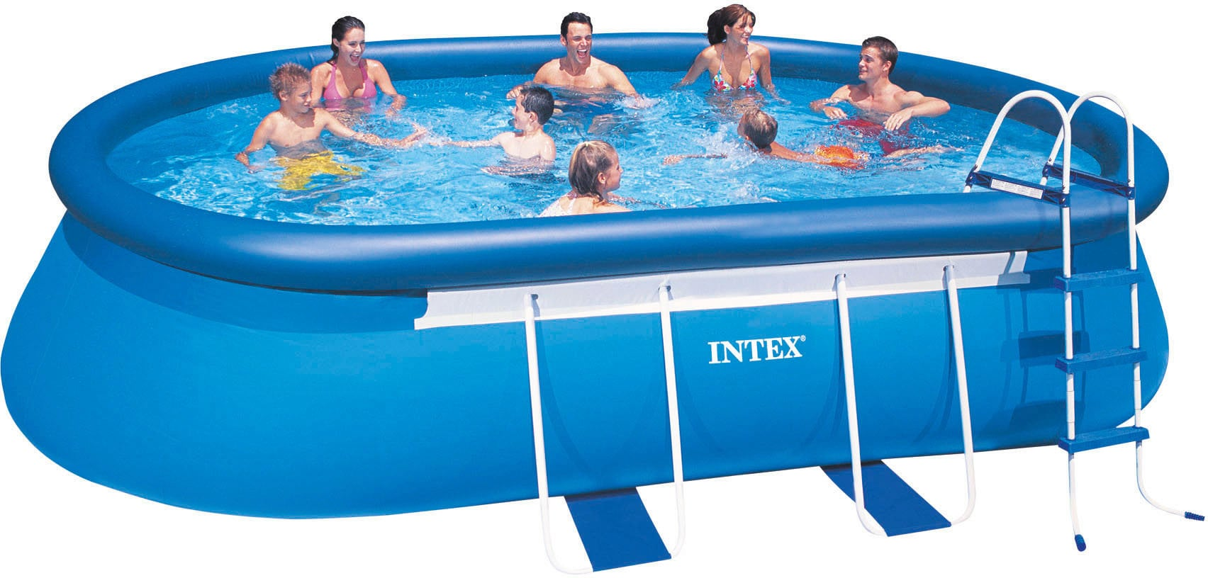 Solarplane Für Pool Oval Intex Frame Pool Oval 549 X 305 X 107 Cm Allespool