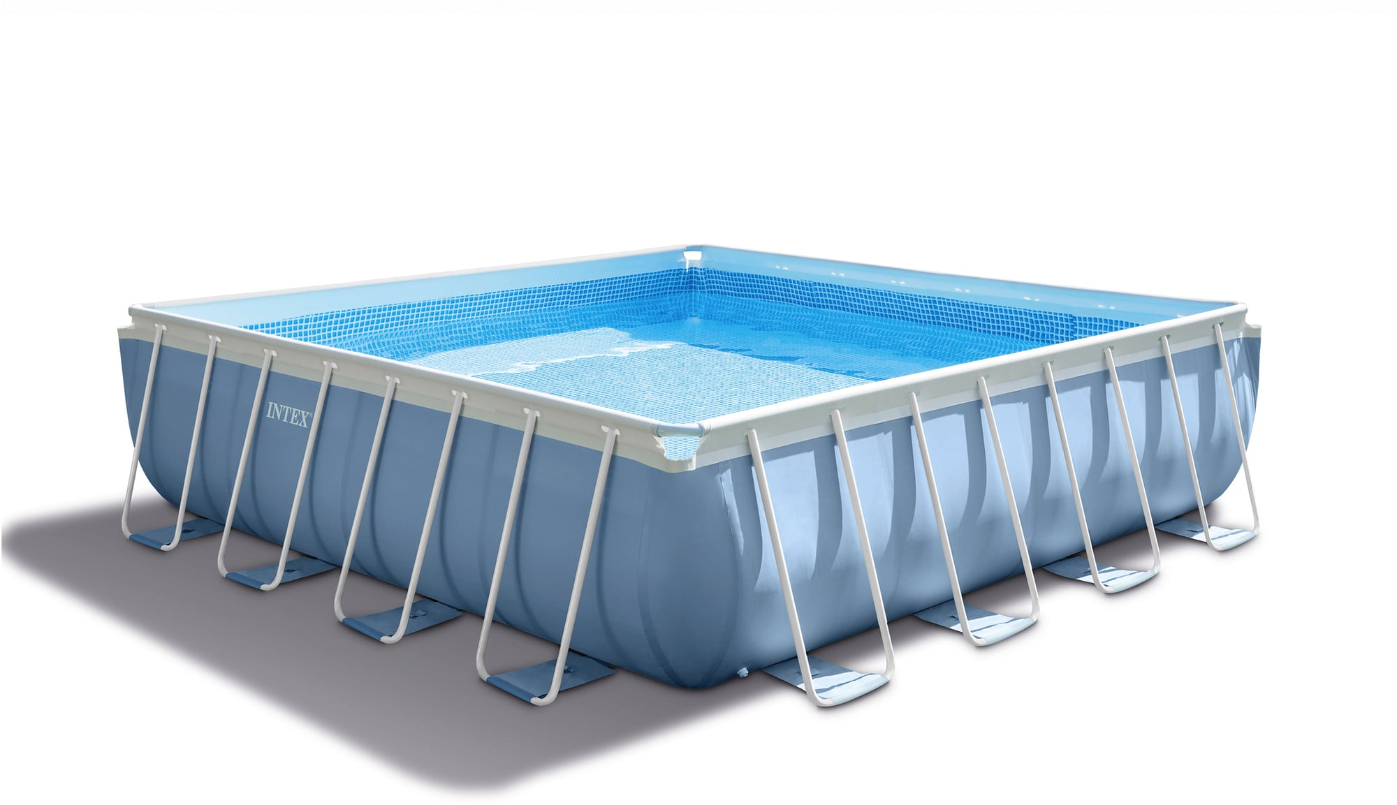 Pool Abdeckung 300 X 200 Intex Frame Pool Prism Karo 427 X 427 X 107 Cm