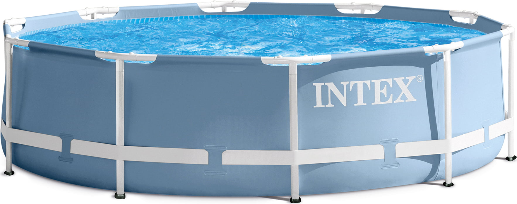 Intex Zwembad 549 X 122 Intex Frame Pool Rondo Prism Ø 457 X 122 Cm