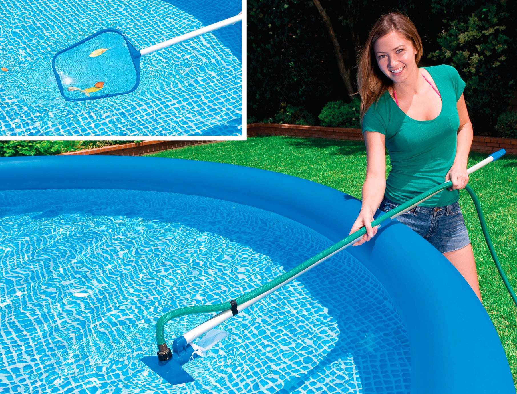 Pool Reinigungsset Video Intex Reinigungsset Venturi 1 Set Pools Shop