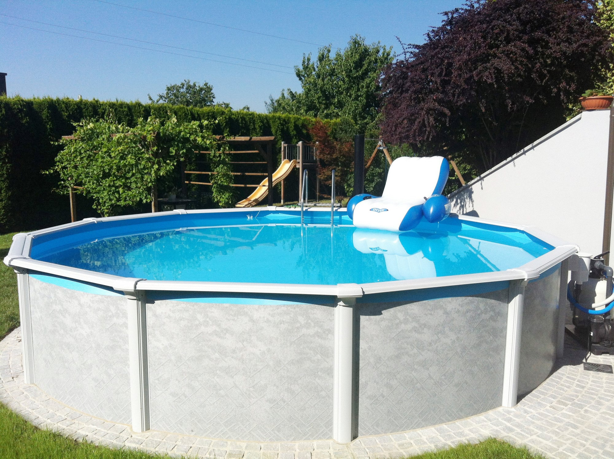 Pool Zubehör Steinbach Steinbach Grande Pool Set Rund Ø 549 X 135 Cm Pools Shop