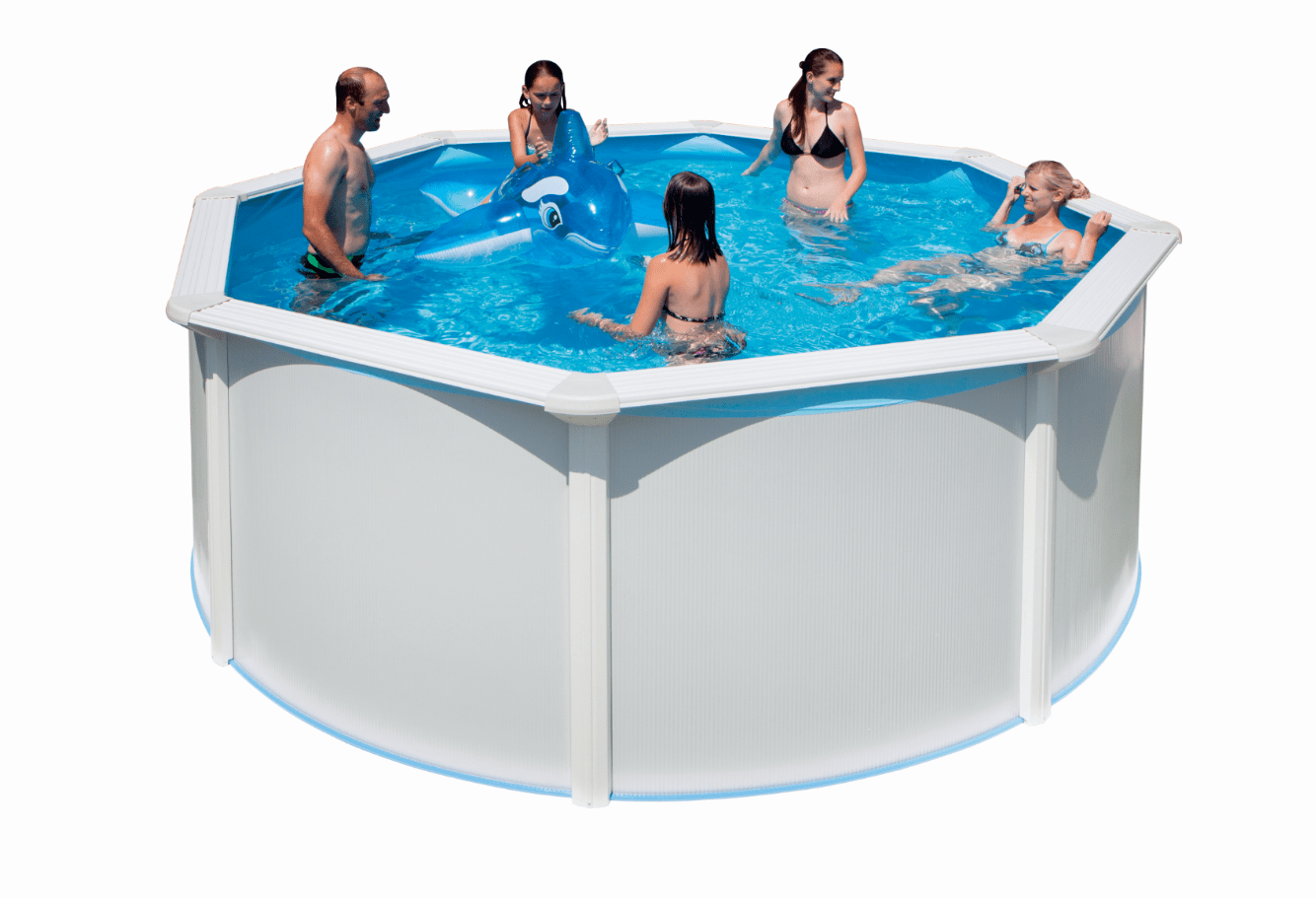 Pool Rund Winterfest Steinbach Highline Pool Rund Ø 460 X 132 Cm