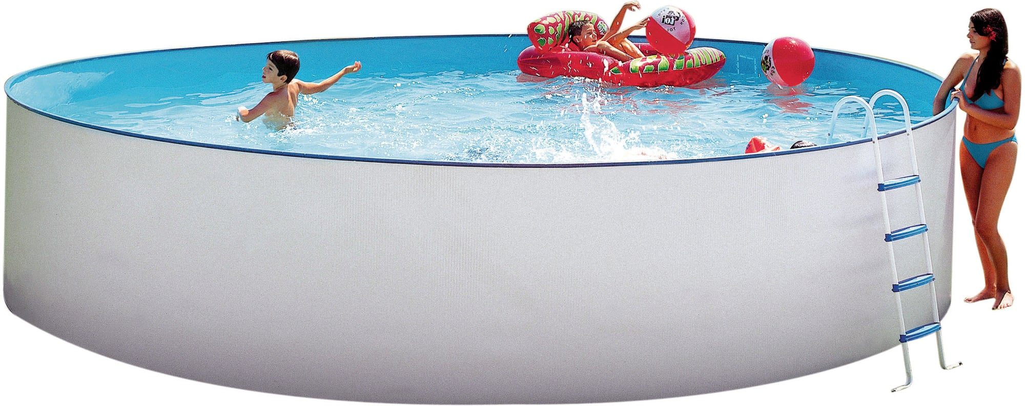 Pool Ohne Filteranlage Steinbach Nuovo Pool Rund Ø 350 X 120 Cm Pools Shop