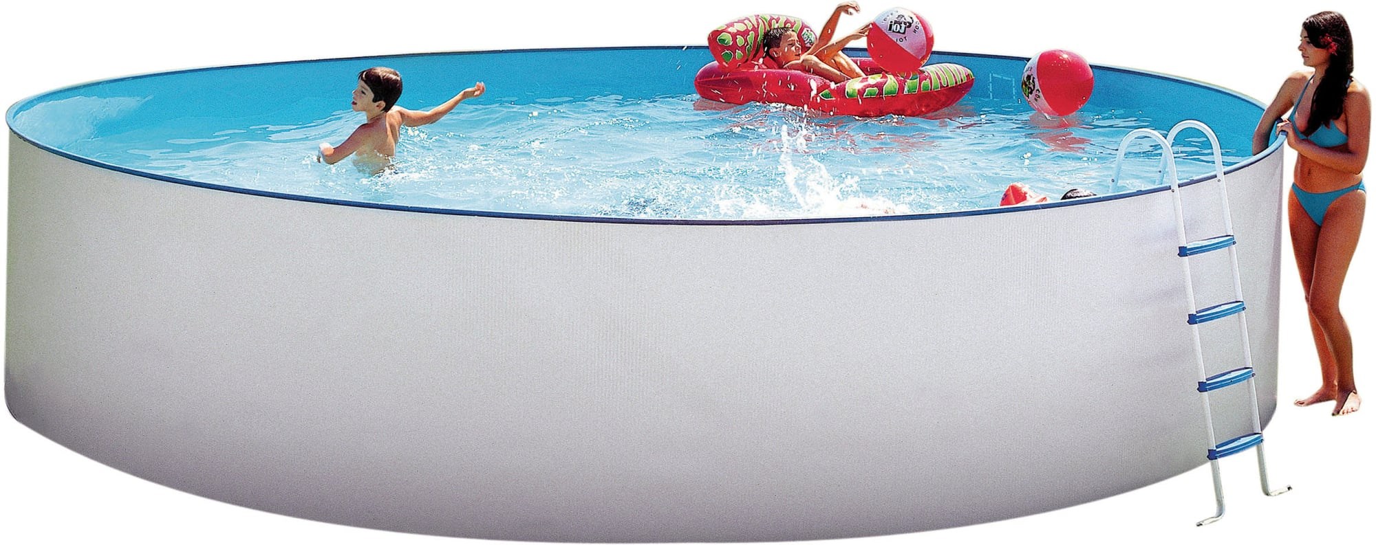 Hobby Pool Sandfilteranlage Steinbach Nuovo Pool Rund Ø 350 X 120 Cm Pools Shop
