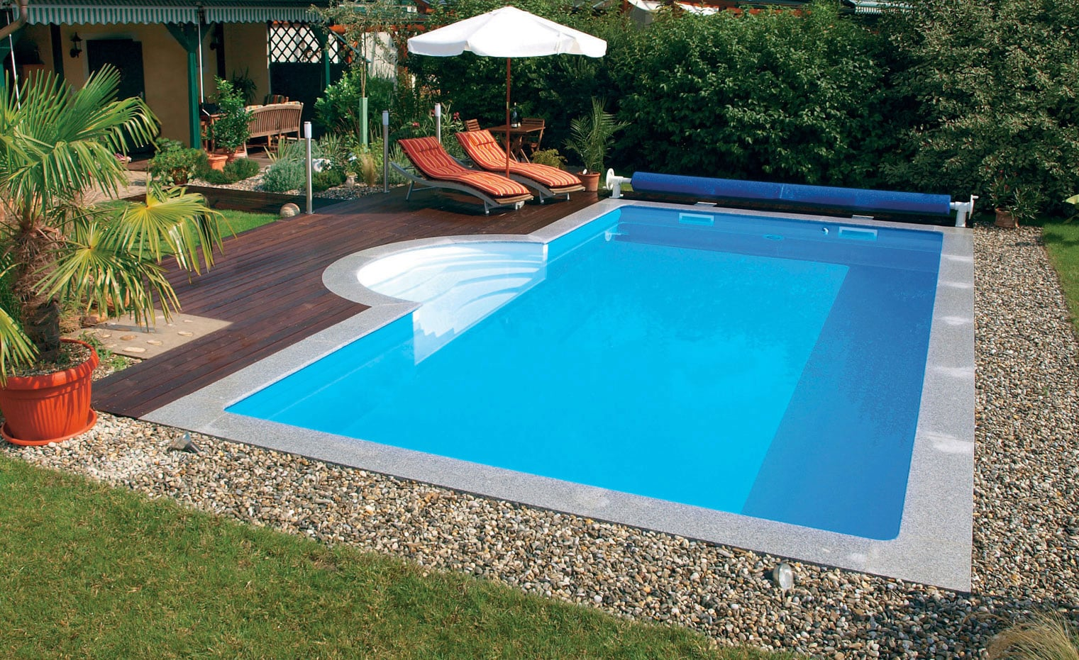 Pool Komplettset Einbau Öko Pool Komplettset Highlight 600 X 300 X 150 Cm