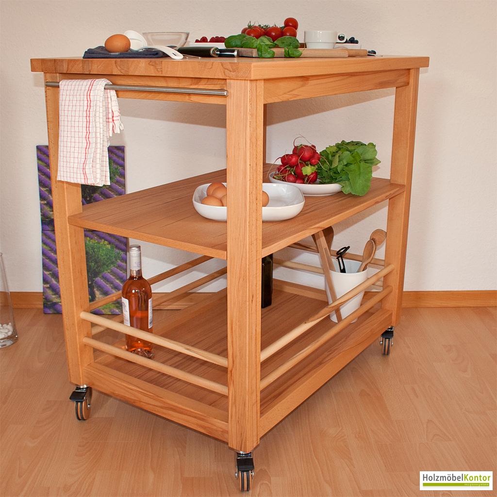Kuchenwagen Holz Danisches Bettenlager Küchen Studio