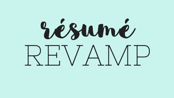Resume 101 Tips for Teachers on Revamping Your Resume at George