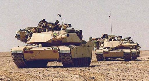 Predator A Marine Corps Tank Company in Operation Desert Storm at