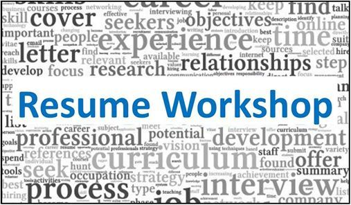 Resume Workshop at Mt SAC Career and Transfer Services, California