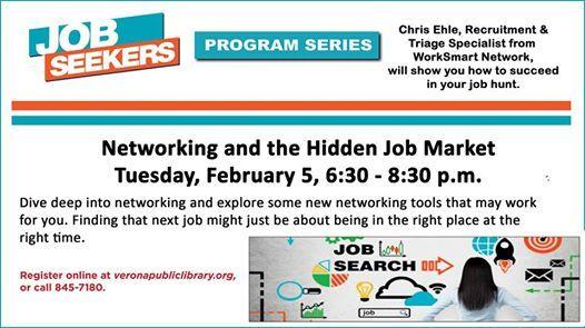 Networking and the Hidden Job Market at Verona Public Library500