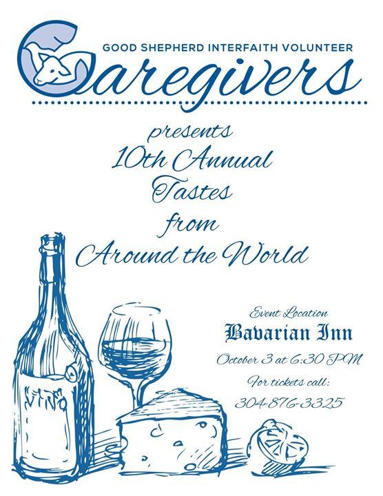 Caregivers Tastes from Around the World at Bavarian Inn - volunteers around the world