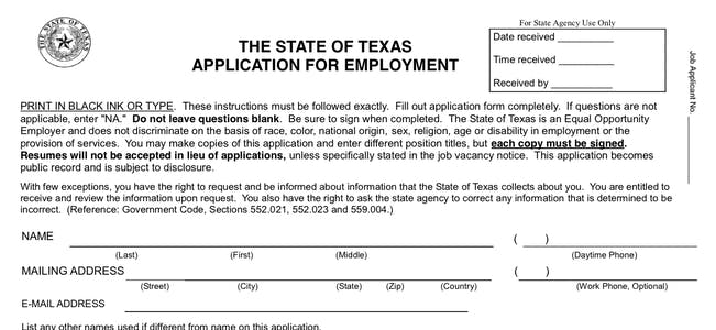 Tips for Filling out the State Application at Extellent Professional