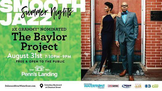 Smooth Jazz Summer NightsThe Baylor Project at Penn\u0027s Landing
