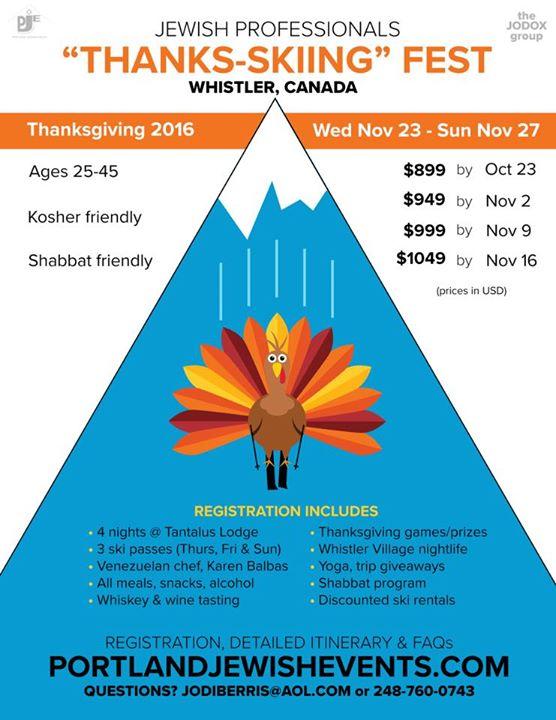 Add New Calendar Event Kelowna Kelowna And Central Okanagan News Information Young Jewish Professionals Quot;thanks Skiing Fest 16